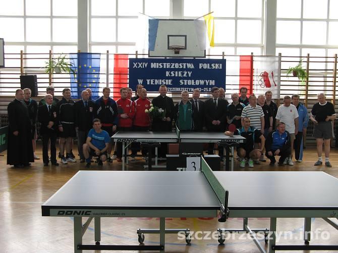 W mistrzostwach biorą udział księża z całej Polski. Fot. Tomasz Gaudnik