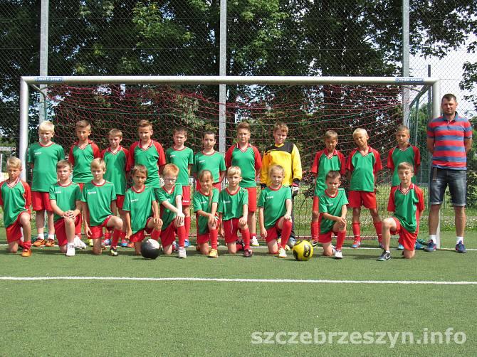 Drużyna MSPN Roztocze przed meczem. Foto: Tomasz Gaudnik