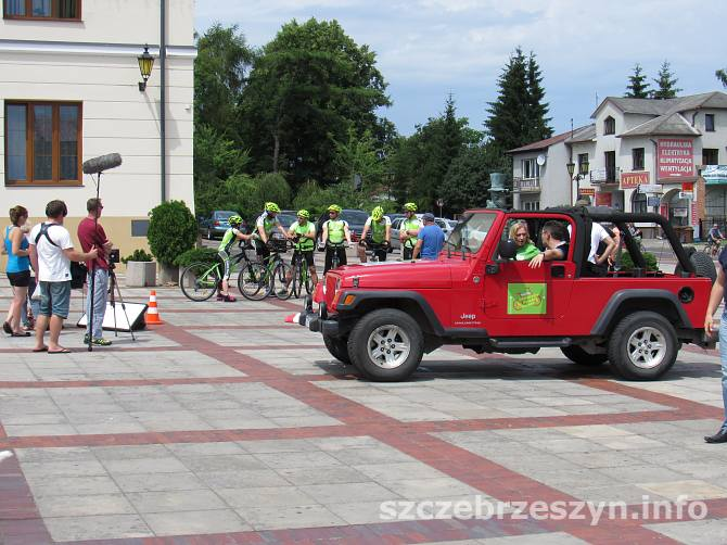 Wakacyjny Peleton Gwiazd w szczebrzeszynie. Foto : Tomasz Gaudnik /Archiwum
