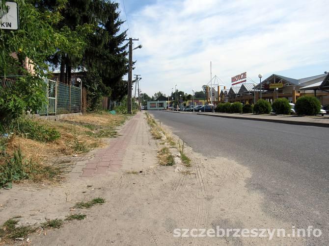 Ulica Targowa w Szczebrzeszynie. Foto : Tomasz Gaudnik