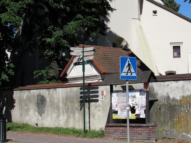 Na ulicach Szczebrzeszyna zamontowane zostały nowe znaki z nazwami ulic i kierunkami ważnych miejsc. Foto : Tomasz Gaudnik